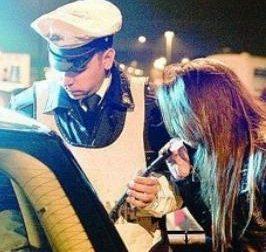 Ubriaco record al volante