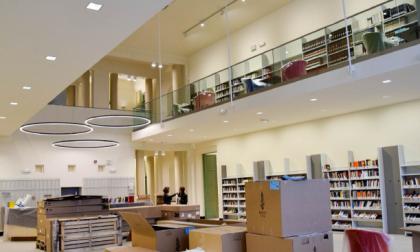 Moderna e luminosa: è la nuova biblioteca