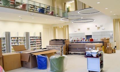 Suoni e parole per inaugurare la biblioteca