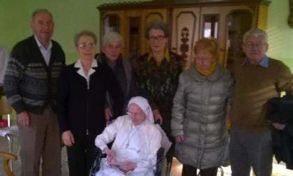 Suor Giuseppina ha compiuto 108 anni