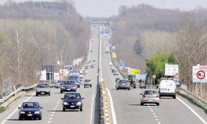 Doppio incidente allo svincolo di Vigliano della superstrada