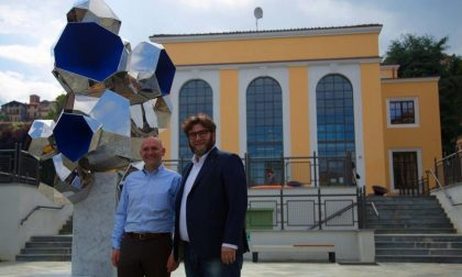Mosca1916 compie 100 anni e rende omaggio a Biella con l'opera Aquamantio di Daniele Basso