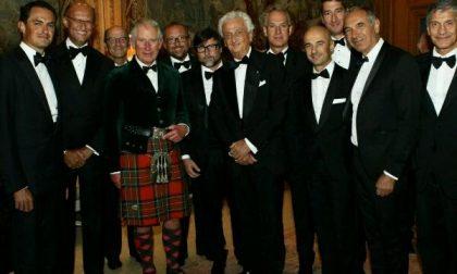 """""""Campaign for Wool"""": per la delegazione italiana, dinner in Scozia con Carlo d'Inghilterra"""