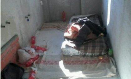 Dormitorio abusivo a Chiavazza