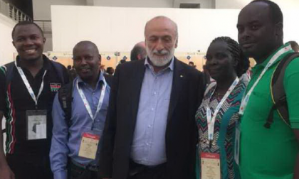 I 15 delegati africani ospiti a Biella