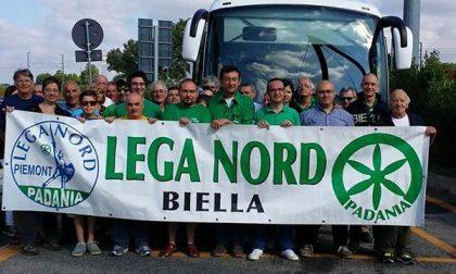 La Lega Nord Biella a Pontida