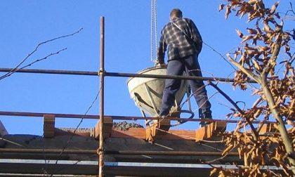 Nel cantiere edile il lavoratore era in nero