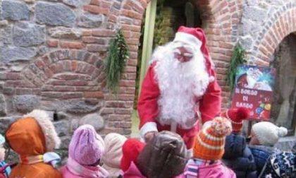 """Babbo Natale """"re"""" del Ricetto di Candelo"""