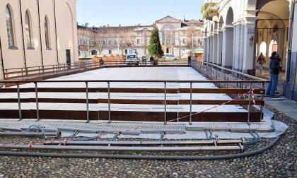 Allestimento Piazza Duomo