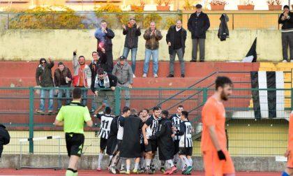 La Biellese saluta la Coppa Italia, davanti ai nuovi ultras vince il Borgovercelli