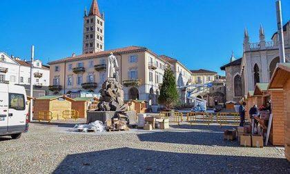Nel cuore di Biella il villaggio di Natale