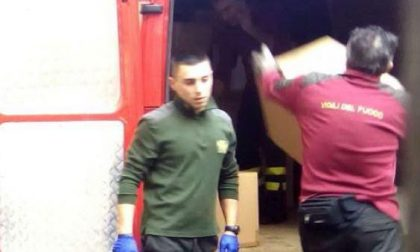 Pompieri in azione: evacuato di nuovo Palazzo di Giustizia