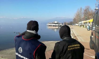 Viverone, carabinieri sub nel lago