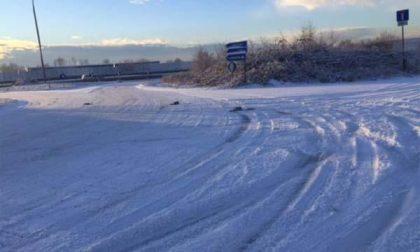 Raffica di incidenti per il ghiaccio e la neve