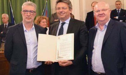 Il tecnico storico di Pallacanestro Biella premiato dal Comune
