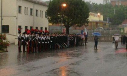 La pioggia battente non ferma i carabinieri