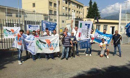 Protesta la Polizia Penitenziaria