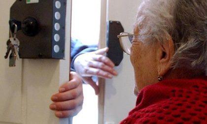 Nonna coraggio fa scappare i truffatori