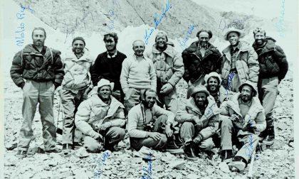 Spedizione K2 1954: a  Moncleir piumino di Angelino