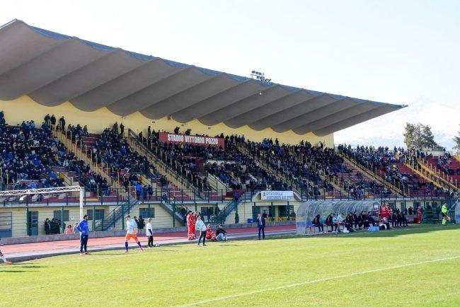Italia-Olanda Under 18, stadio Pozzo gremito (Foto Corrado Sartini)