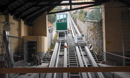 Funicolare Biella arrivate le nuove cabine FOTO