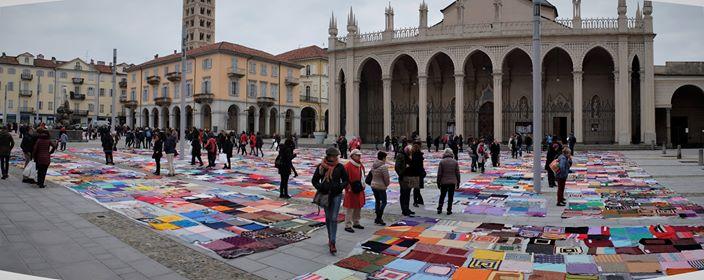 In Piazza Duomo a Biella l