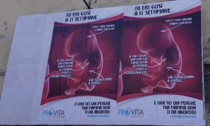 Poster pro vita, polemiche a Ponderano