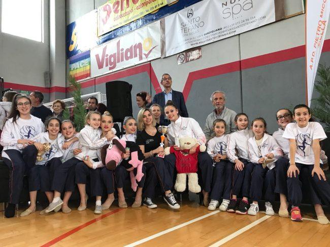 Ginnastica Estetica, Apd Pietro Micca vincente a Vigliano Biellese