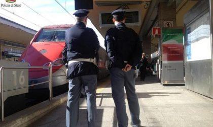 Controlli della Polfer sui treni e nelle stazioni: raffica di denunciati