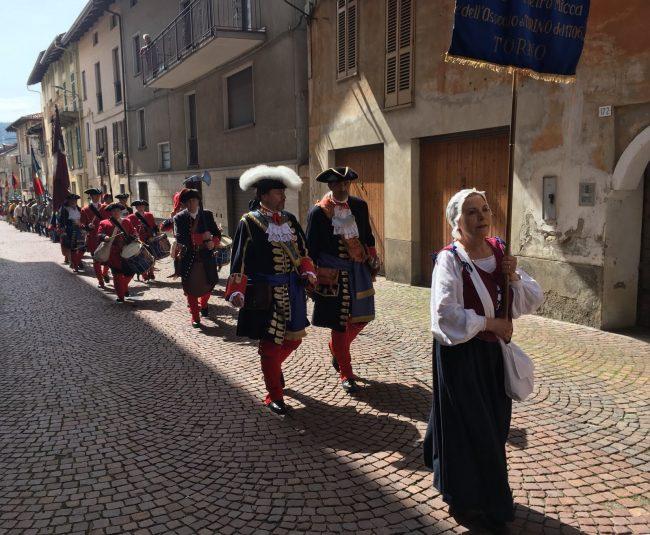 Museo Pietro Micca, la sfilata storica VIDEO