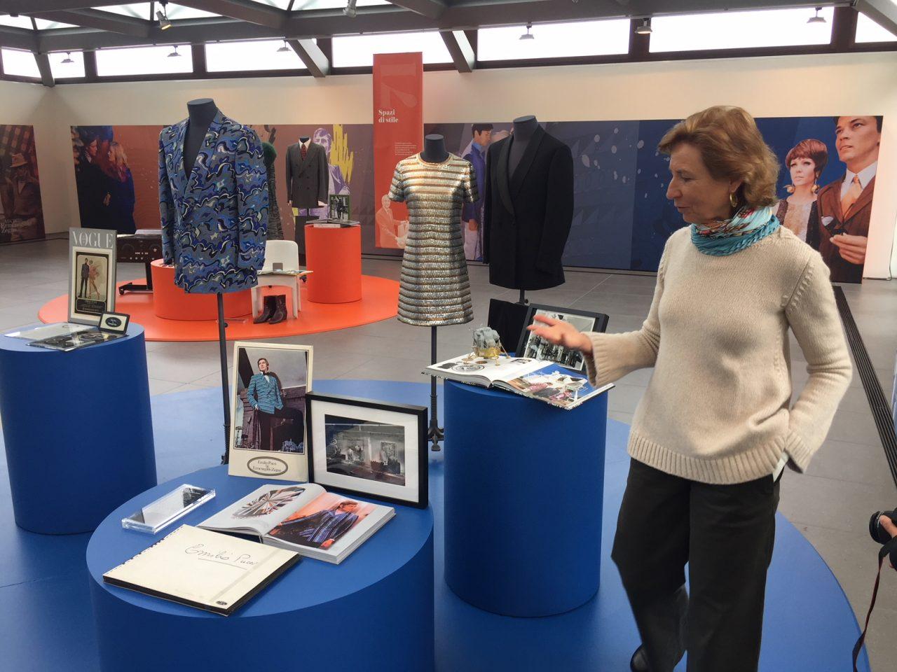 Anna Zegna presenta la mostra a Trivero