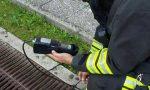Escavatore trancia tubo del gas, paura a Gaglianico