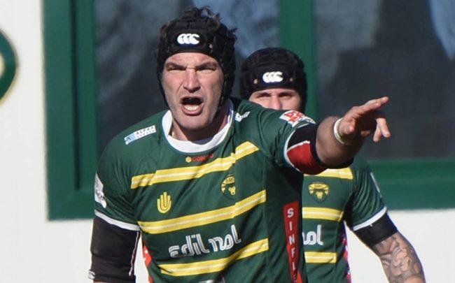Aldo Birchall head coach Biella Rugby Club