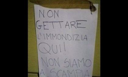 Biella-Scampia, è scontro su un cartello
