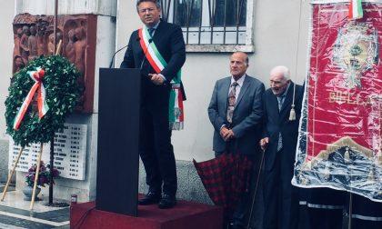 L'alpino Biasetti alla commemorazione