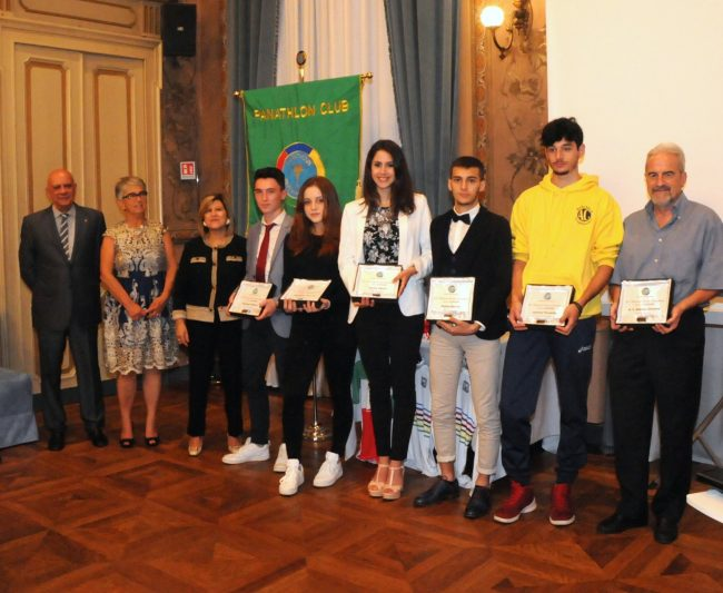 Premi Junior al Panathlon Biella
