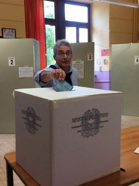 Elezioni comunali 2018 Sergio Fantone al voto
