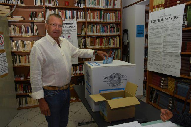 Elezioni comunali 2018 Francesco Vettoretto al voto