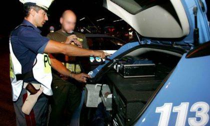 Ubriaco al volante provoca un incidente, sequestrata la Fiat Punto