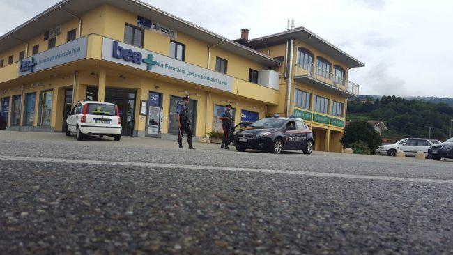 Rapina in farmacia a Donato, presi i banditi.