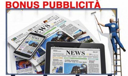 Approvato il bonus pubblicità per le campagne sui giornali