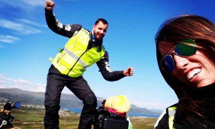 Fino a Capo Nord in moto per la luna di miele