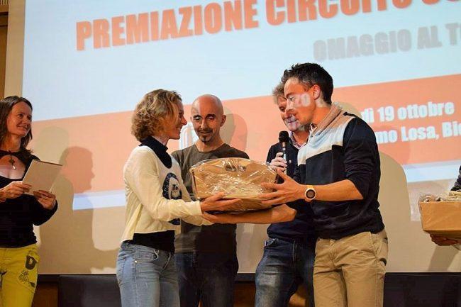 Gsa Pollone, premiazione Circuito 3C e omaggio al Tor des Geants