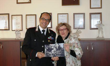 Lorella Nofri incontra il comandante dei carabinieri