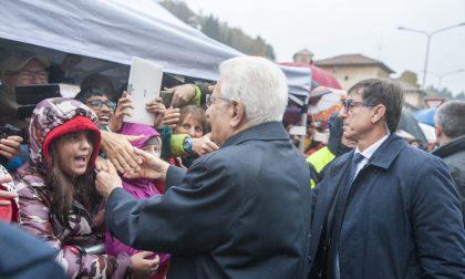 """Mattarella a Valle Mosso: """"Lo Stato c'è"""" FOTO"""