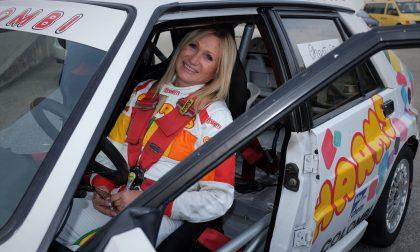 Chantal Galli, la 'dama dei rally ' al Motor Show