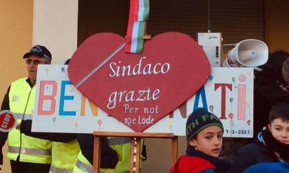 Sandigliano, festa alle elementari rifatte a tempo di record FOTO VIDEO