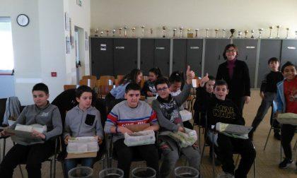 Cosrab a scuola per... i rifiuti