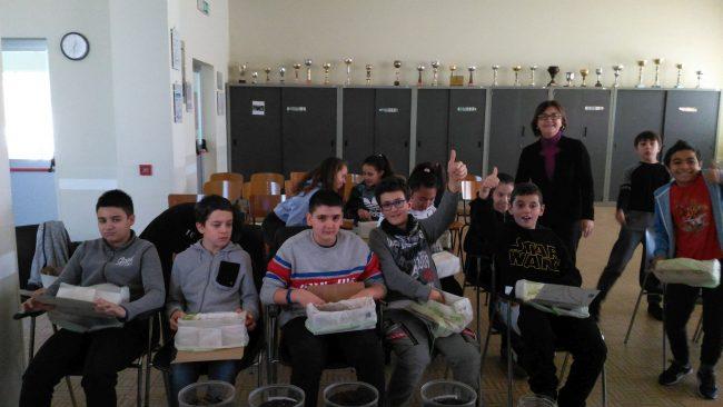 Cosrab a scuola per&#8230&#x3B; i rifiuti