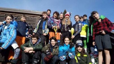 I Campionati Studenteschi sulle nevi dell'Oasi Zegna